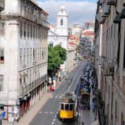 Трамвай. Лиссабон, 2011