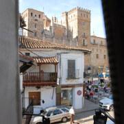 Вид из окна на монастырь Св.Девы Марии. Гваделупе, Испания, 2011