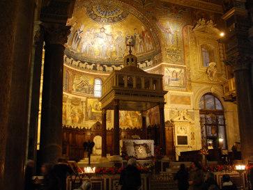 Санта Мария ди Трастевере. Рим. Италия