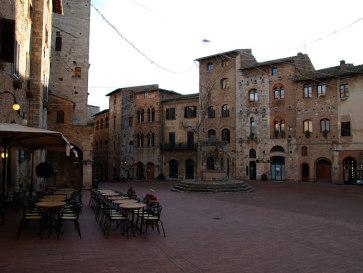 Сан-Джиминьяно. Италия