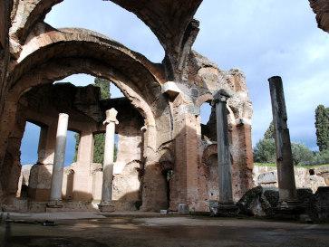 Вилла Адриана. Тиволи. Италия