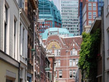Старый и новый город. Гаага. Нидерланды