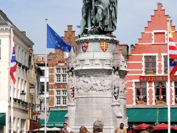 Рыночная площадь. Брюгге. Бельгия