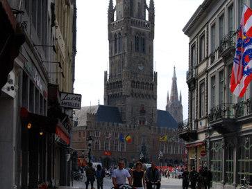 Башня Белфорт. Брюгге. Бельгия
