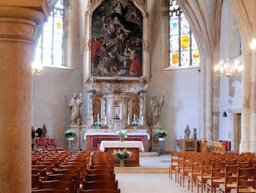 Люксембург. Церковь Сен-Мишель