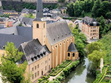 Люксембург. Монастырь Ноймюнстер