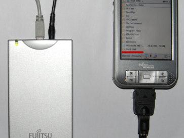 Внешний HDD и КПК