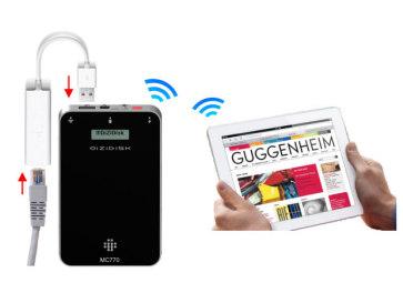 Режим Ethernet-to-Wifi