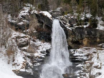 Водопад Стайнсдалсфоссен