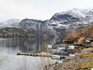 Норвегия. Трасса E39
