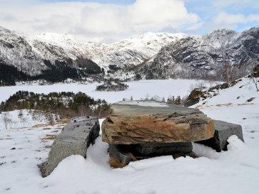 Норвегия. Озеро Стореватнет