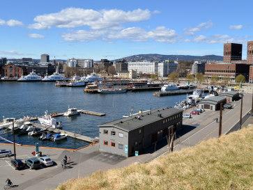 Осло. Ратушная площадь