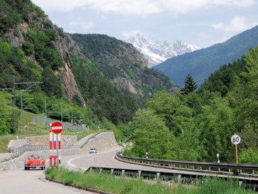 По дороге из Италии в Швейцарию