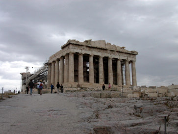 Афины. Парфенон 2004 год