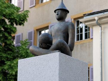 Бриг. Скульптура Король X