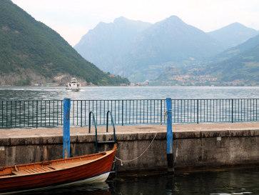 Озеро Изео. Вид из Сульцано