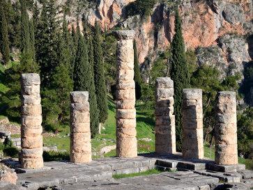 Античные Дельфы. Храм Аполлона