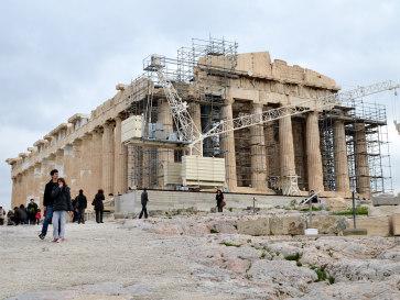 Афины. Парфенон 2014 год