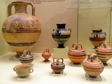 Микены. Археологический музей. Амфоры