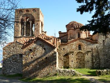 Мистра. Церковь Св. Софии