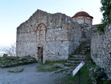Мистра. Церковь Св. Николая
