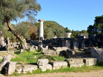 Олимпия. Храм Зевса