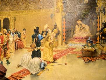 Голова Али-паши у Султана