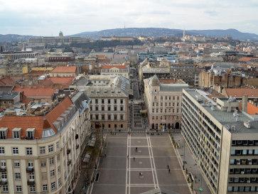 Будапешт. Вид с Собора Иштвана