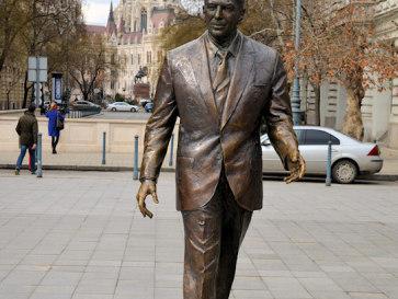 Будапешт. Памятник Рейгану