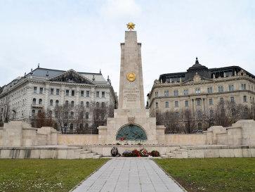 Будапешт. Монумент советским солдатам