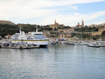 Порт в Мгарре. Гозо, Мальта