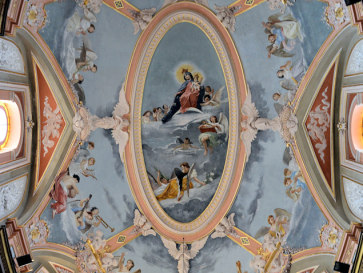 Купол церкви Кармелиты. Мдина. Мальта