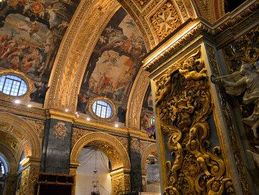 Собор Св.Джона. Валлетта. Мальта