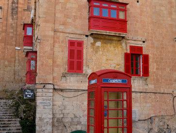 Телефонная будка. Валлетта. Мальта