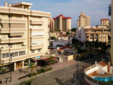 Апартаменты Veramar. Вид с балкона. 2014 г.