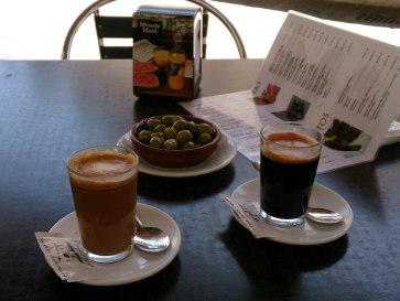 Бар La Tasca. Кофе