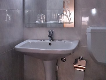 Гостиница Branco. Ванная