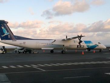 Аэропорт на острове Санта Мария. Азорские острова
