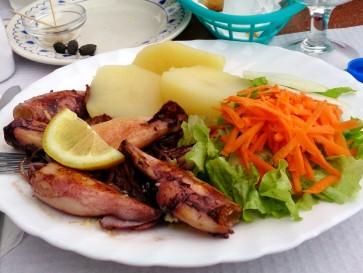 Ресторан Ritinha. Кальмар