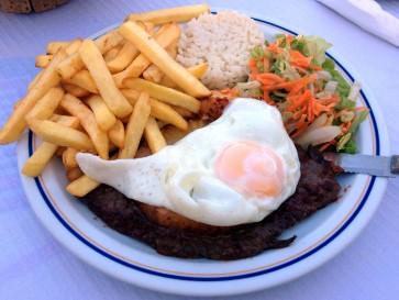 Ресторан Сlube Naval. Мясо