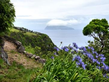 Вид на Корву. Остров Флореш
