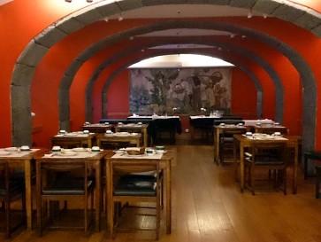 Ресторан Alcides. Интерьер