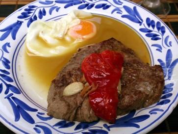 Ресторан Casa Acoreana. Филе говядины по-азорски
