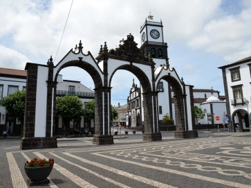 Понта Дельгада. Городские ворота