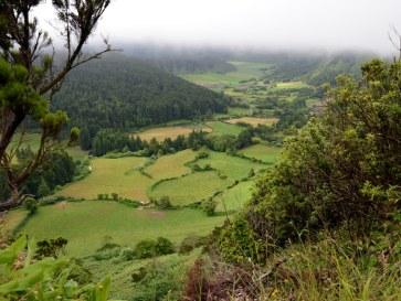 Сан Мигель. Запад острова