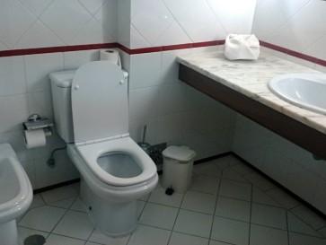 Гостиница Прая де Лобос. Ванная