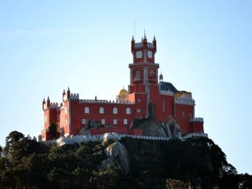 Замок Пена. Синтра. Португалия