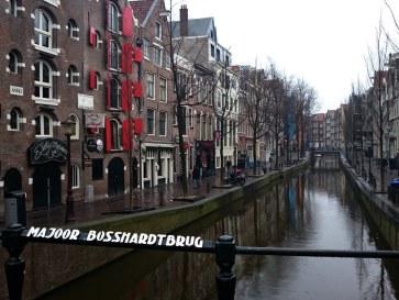 Амстердам. Квартал красных фонарей