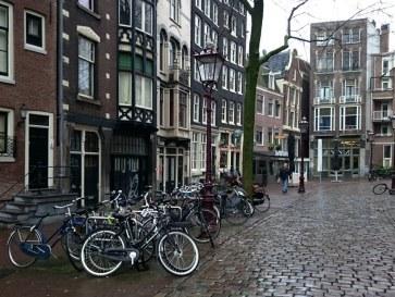 Амстердам. Площадь Аудекерк