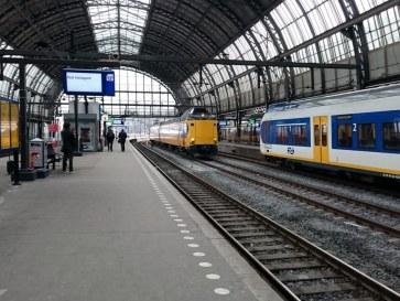 Амстердам. Центральный вокзал